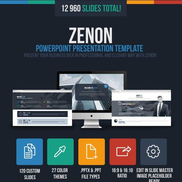 Zenon Powerpoint Presentation Template