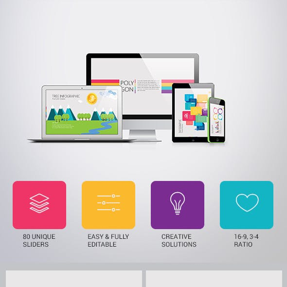 Polygon Presentation Template for Business