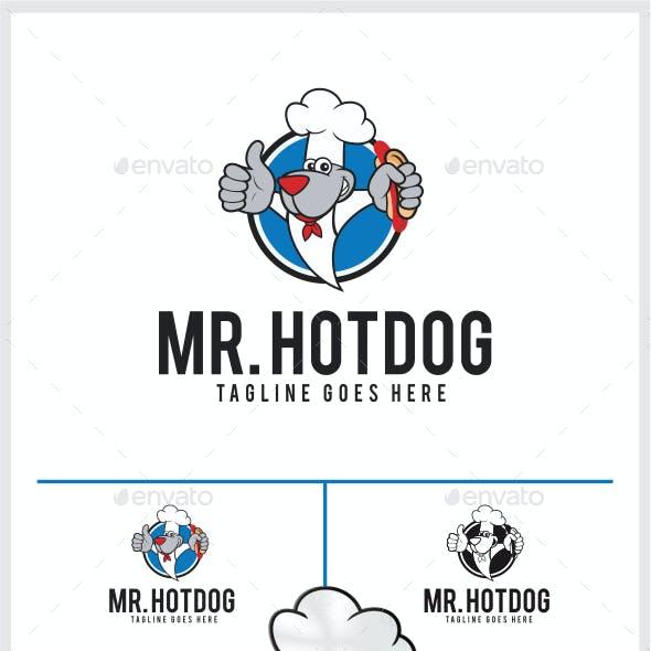 Mr. Hot Dog Logo Templates