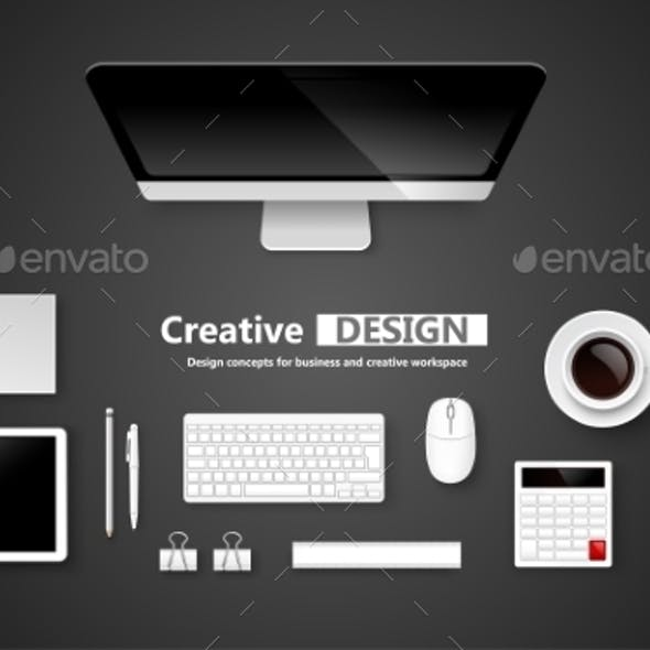 Creative Design Workspace