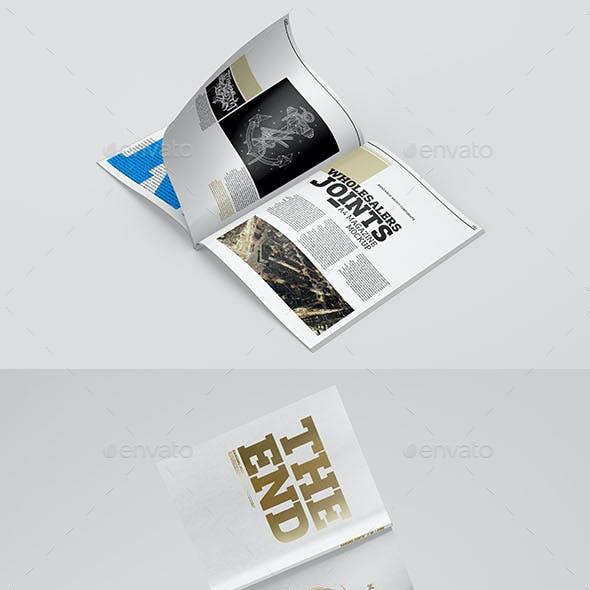A4 Magazine  Catalog Mockup