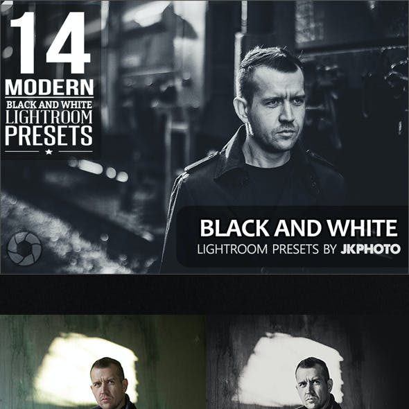14 Black And White Lightroom Presets