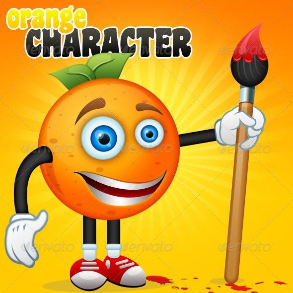 Orange Character + Bonus