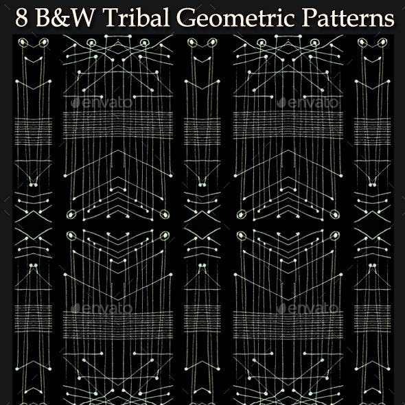 8 Tribal Geometric Patterns