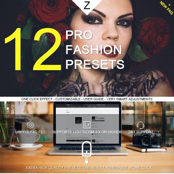 12 Pro Fashion Presets