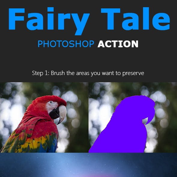 Fairy Tale Photoshop Action