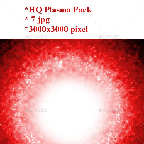 Pack of 7 Plasma Background