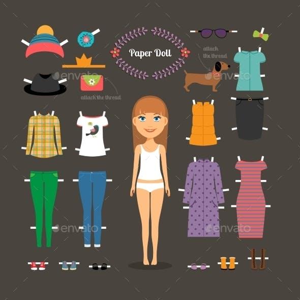 Paper Doll Dress Up