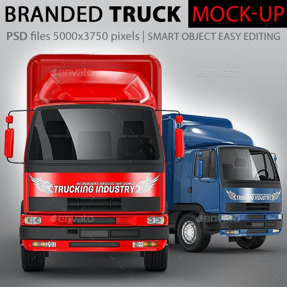 Commercial Truck Carrier Mock-Up