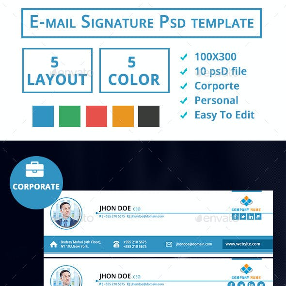 EMail Signature- Corporate & Personal