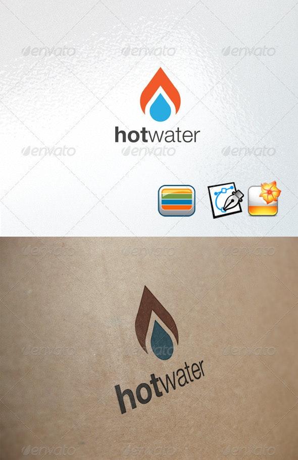 Hotwater - Nature Logo Templates
