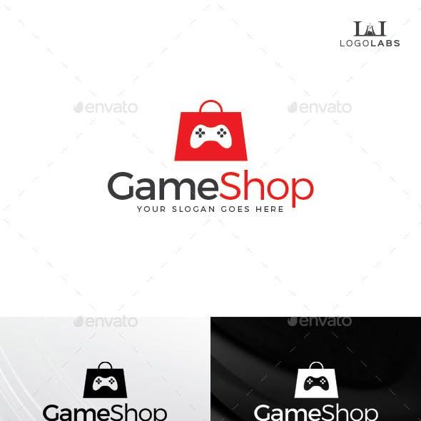 Game Shop Logo
