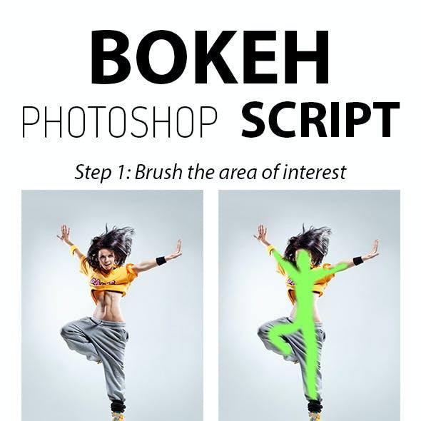 Bokeh Photoshop Script