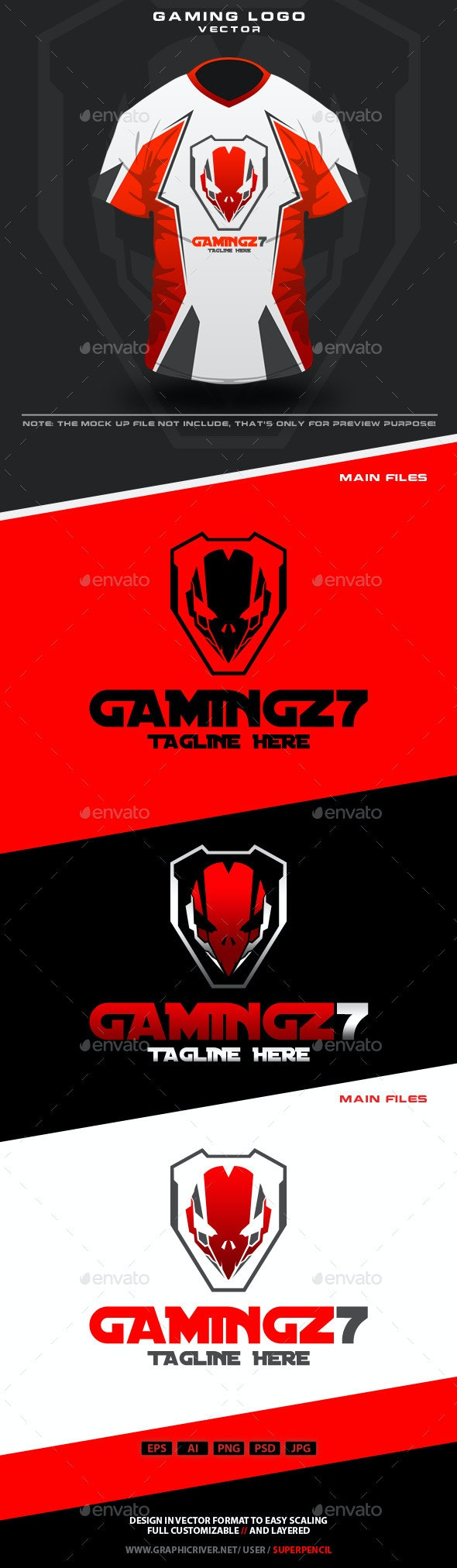 Gamingz7 Logo - Humans Logo Templates