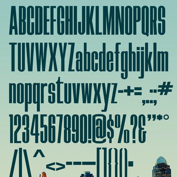Skyline Typeface