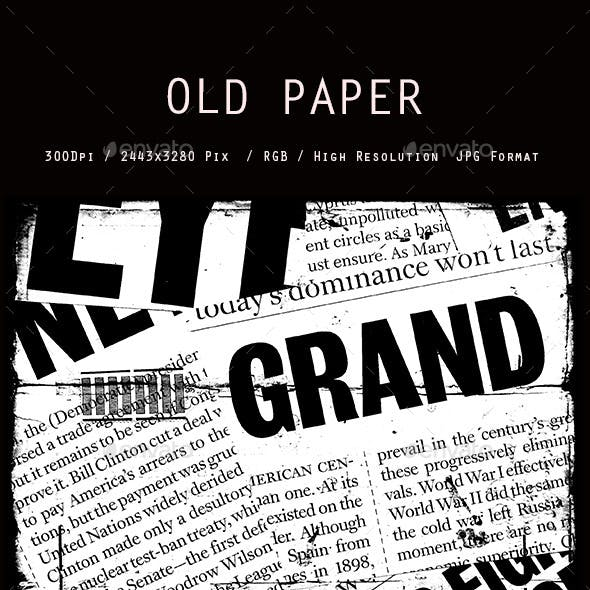 Old Newspaper collage 0121