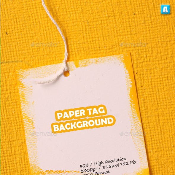 Paper Tag Background 0113