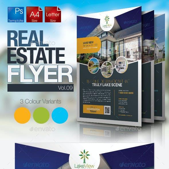 Simple Real Estate Flyer Vol.09