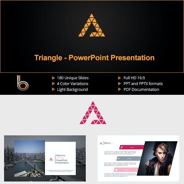 Triangle - Multipurpose PowerPoint Presentation