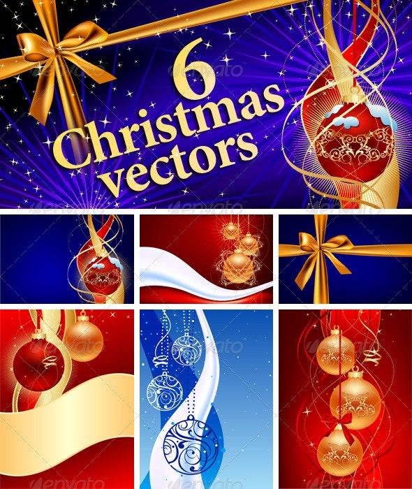 Christmas Vectors - Christmas Seasons/Holidays