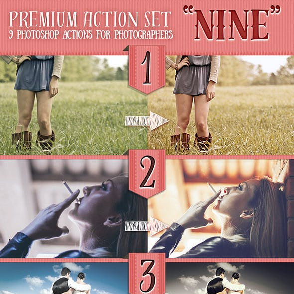 Premium Action Set NINE