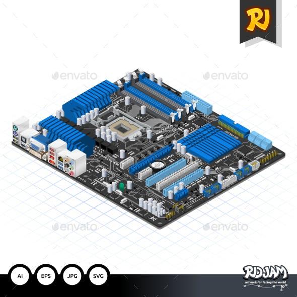 Isometric Motherboard