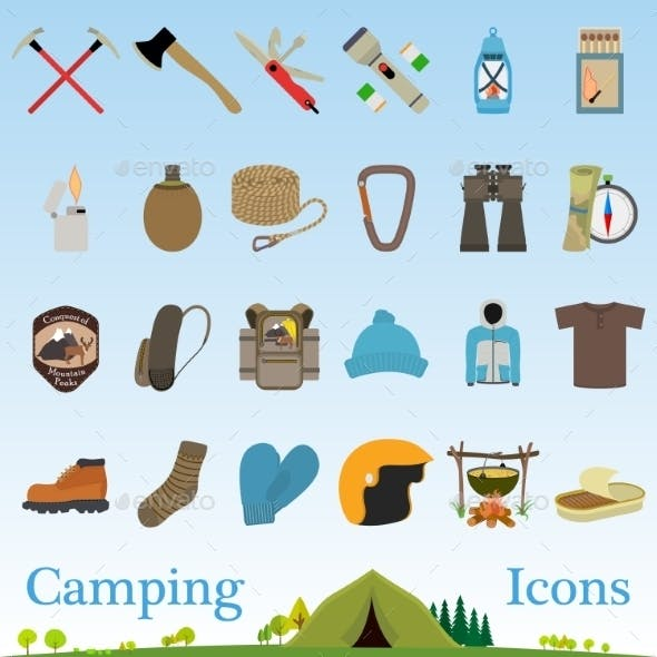 Mountain Hiking and Climbing Gear