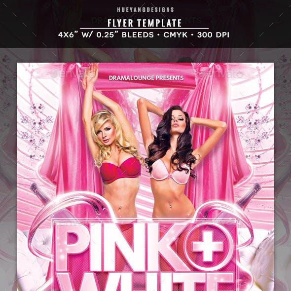 Pink & White Flyer