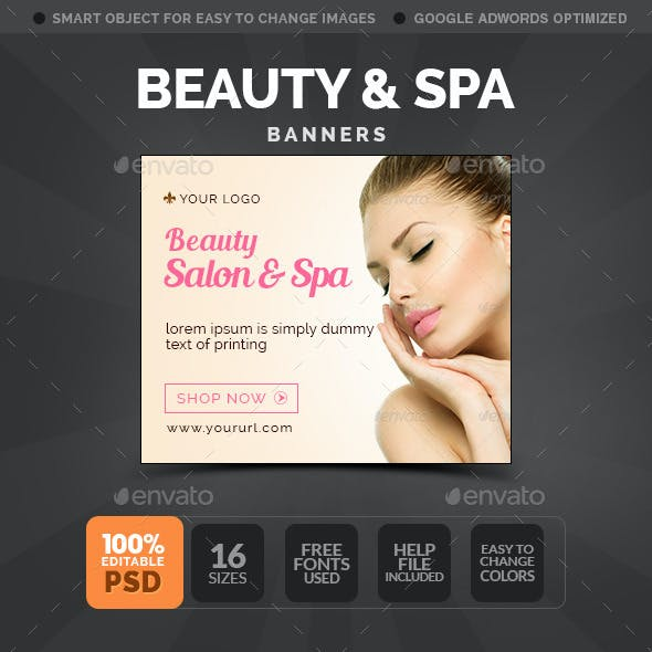 Beauty & Spa Banners