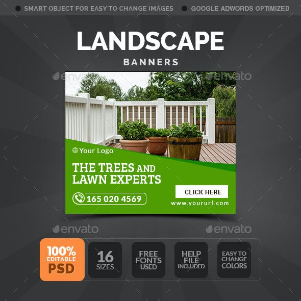 Landscaping Banners