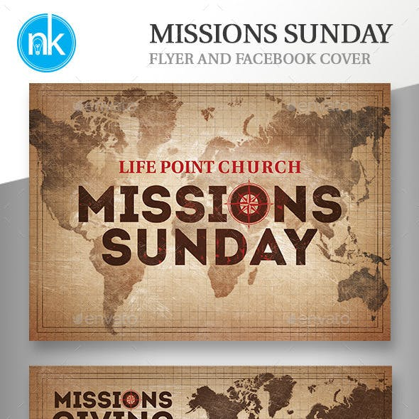 Missions Sunday Template Set