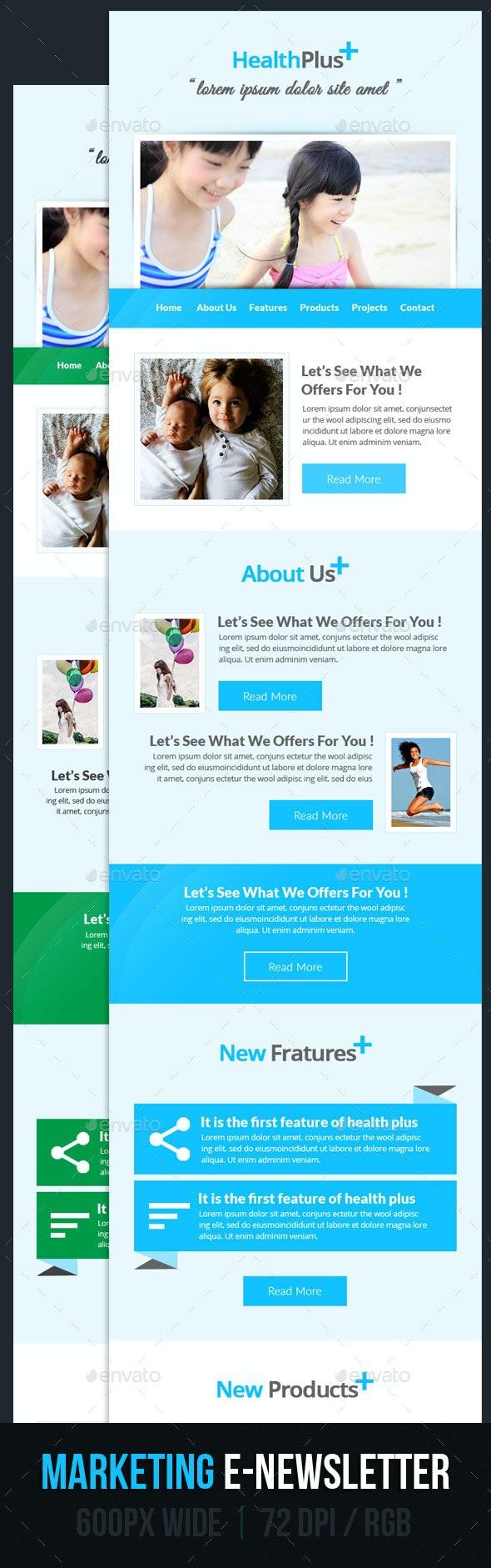 Marketing E-Newsletter