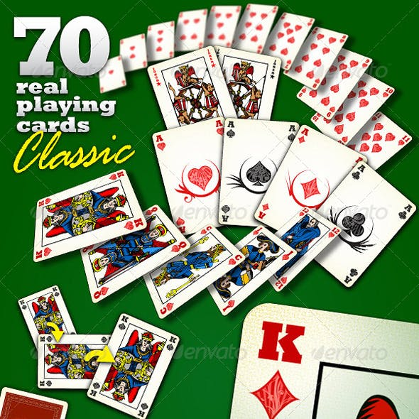 70 Real Playing Cards