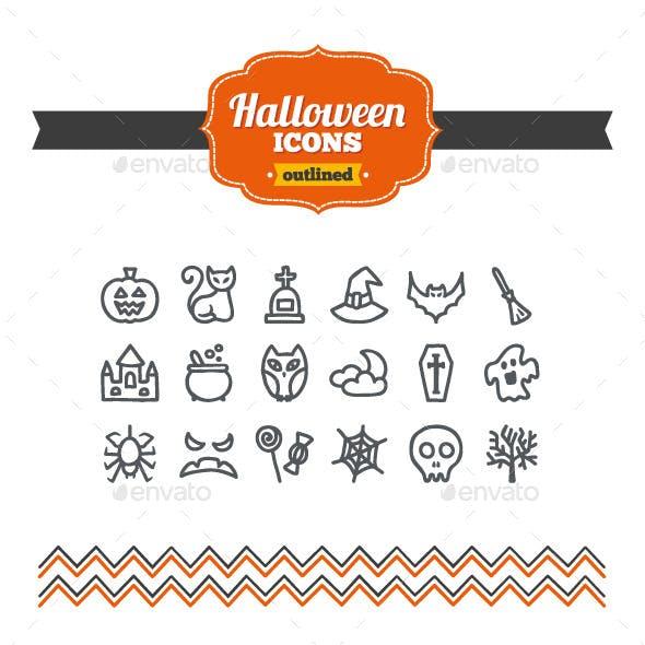 Hand Drawn Halloween Icons