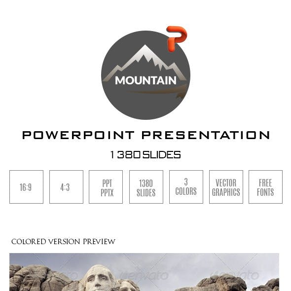 Mountain PowerPoint Presentation Template