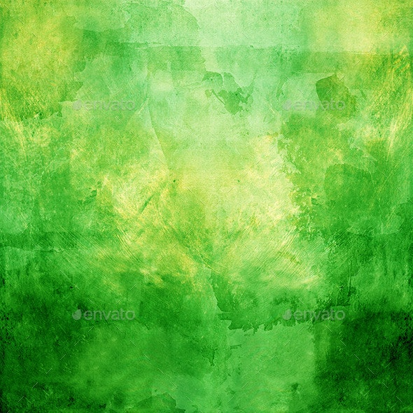 Abstract Green Background - Miscellaneous Textures