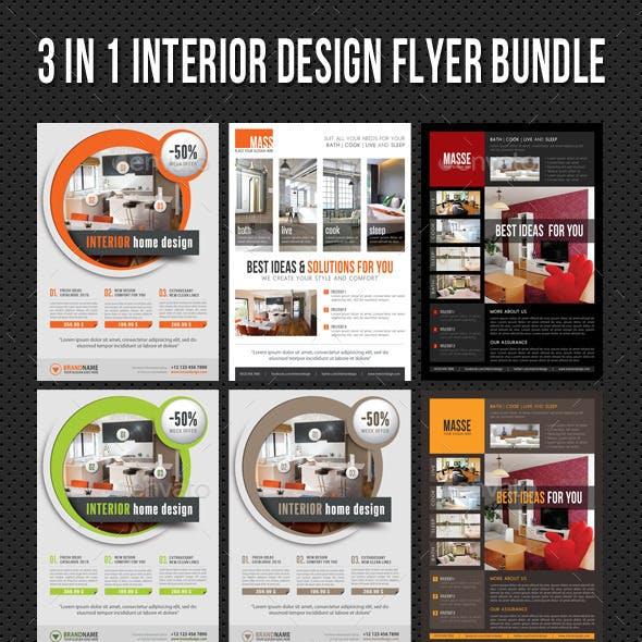 3 in 1 Interior Product Flyer Bundle 06