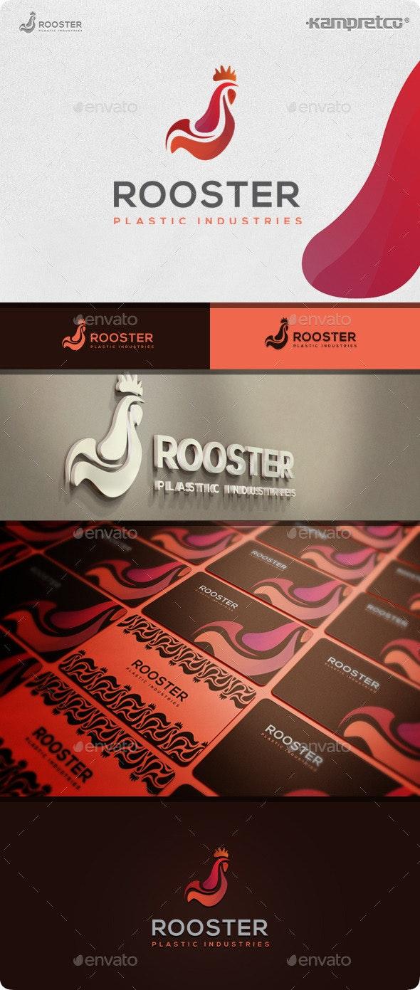 Chicken Rooster Logo - Animals Logo Templates