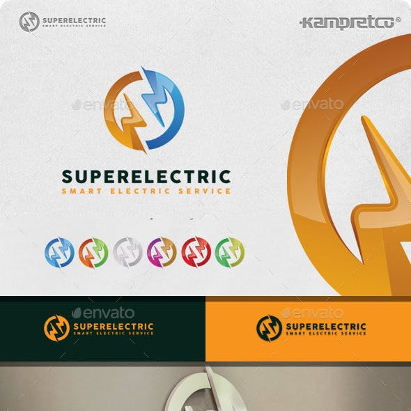 Super Electric Logo