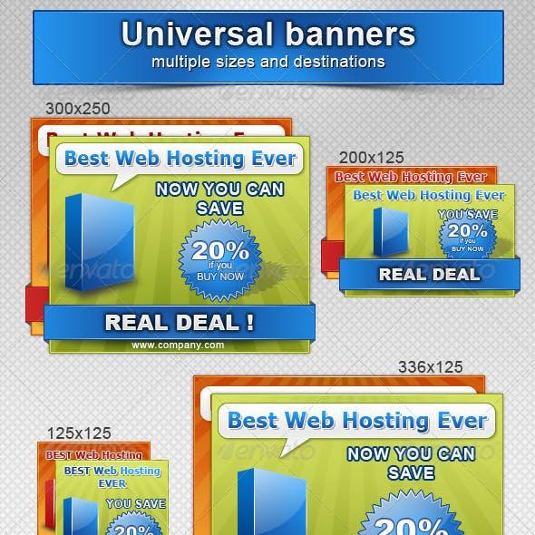 Marketing - Universal Banners