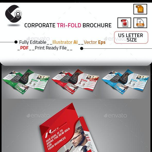Tri-Fold Creative Agency Brochure