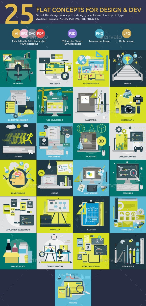 Flat Concepts for Design & Development - Media Technology