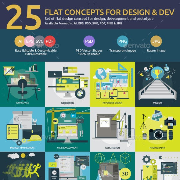 Flat Concepts for Design & Development
