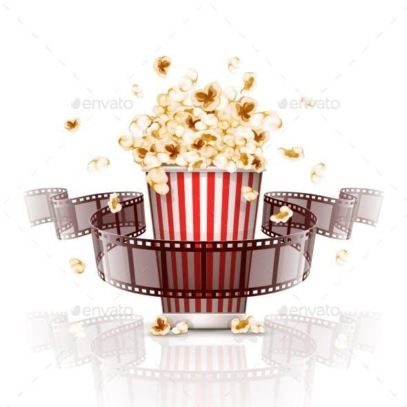 Jumping Popcorn and Film-Strip Film
