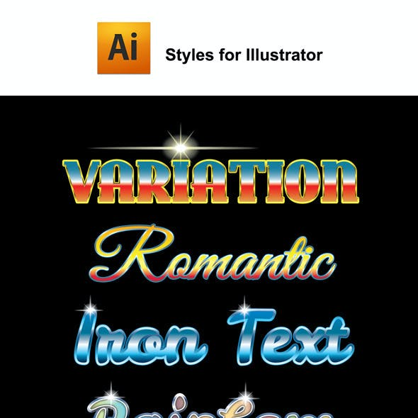 Variation Graphic Styles for Ai