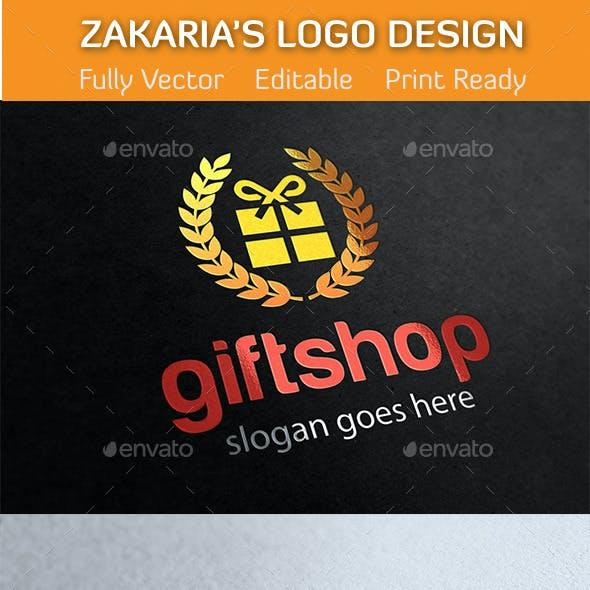 Gift Shop Online Market Logo