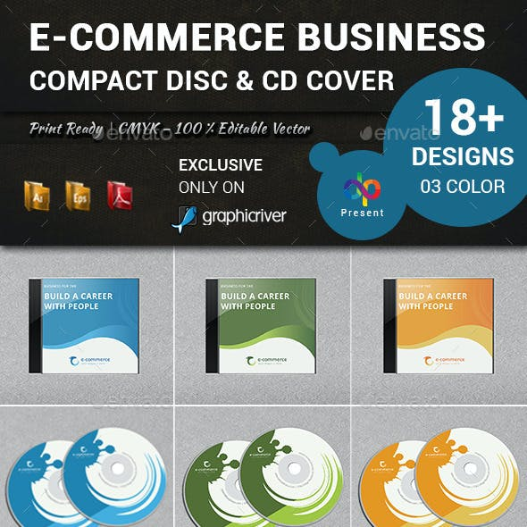 E-Commerce Business Compact Disc & CD Cover