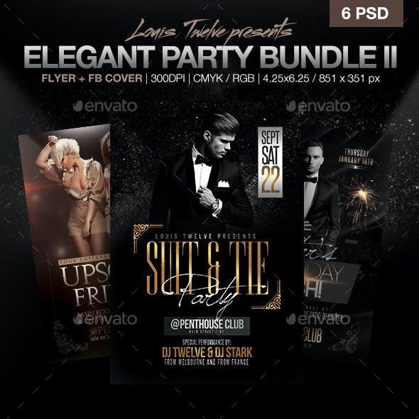 Elegant Party Flyer Bundle V2