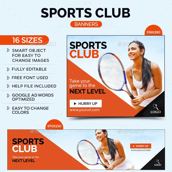 Sports Club Banners