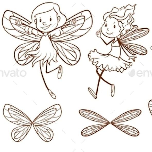 Sketch of Simple Fairies